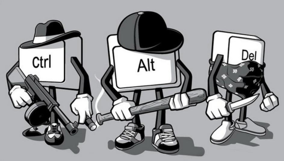 Как создался Ctrl+Alt+Del