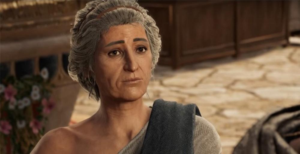 Секс с чей то бабушкой в Assassin's Creed Odyssey это норма
