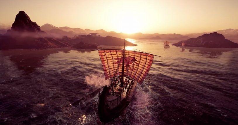 Корабли в Assassin's Creed Odyssey