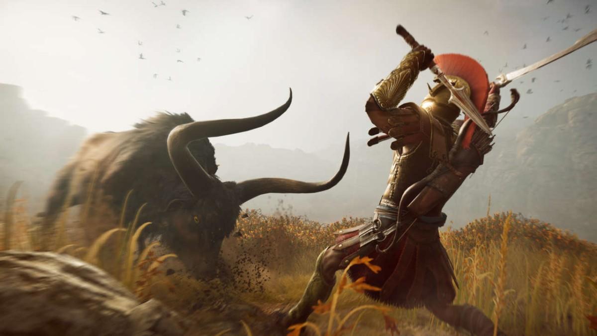 Звери в Assassin's Creed Odyssey