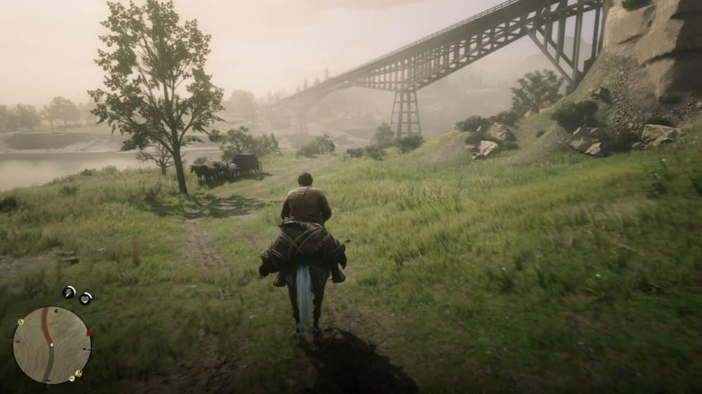 Быстрое перемещение в Red Dead Redemption 2