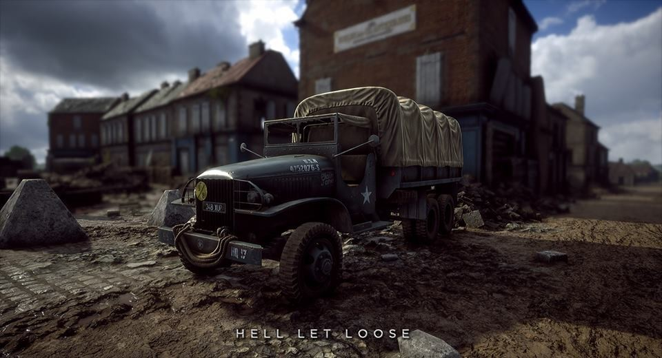 Hell Let Loose прямой конкурент Battlefield 5