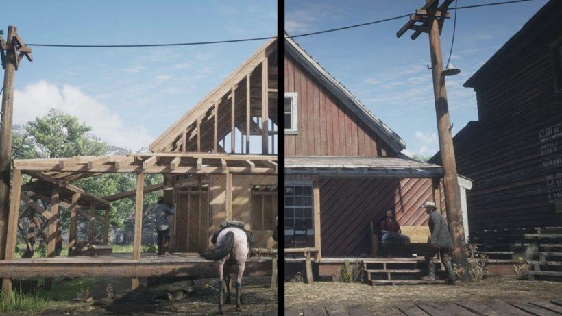 Как меняется мир по мере прохождения в Red Dead Redemption 2
