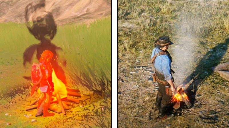 Red Dead Redemption 2 vs The Legend of Zelda: Breath of the Wild