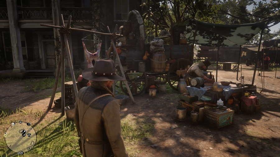 Крафтинг в Red Dead Redemption 2