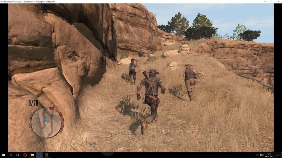 Red Dead Redemption запустили на ПК с нормальными настройками
